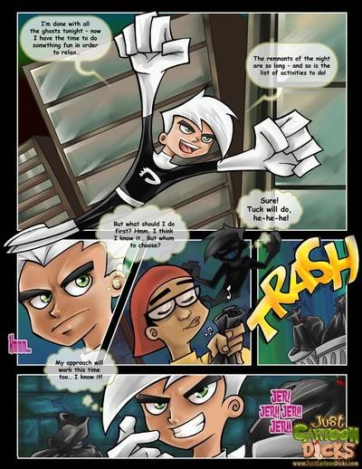 Danny Phantom- Just Cartoon Dick