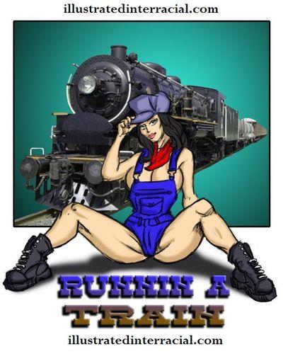 Runnin A Train 1- illustrated interracial