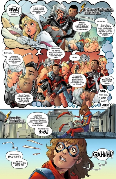 Ms Marvel spiderman