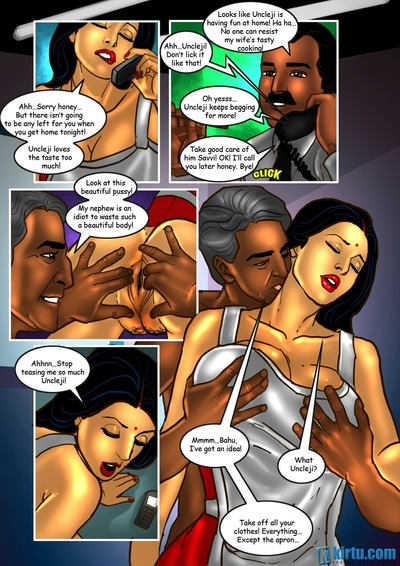 Savita Bhabhi 25 - The Uncle\