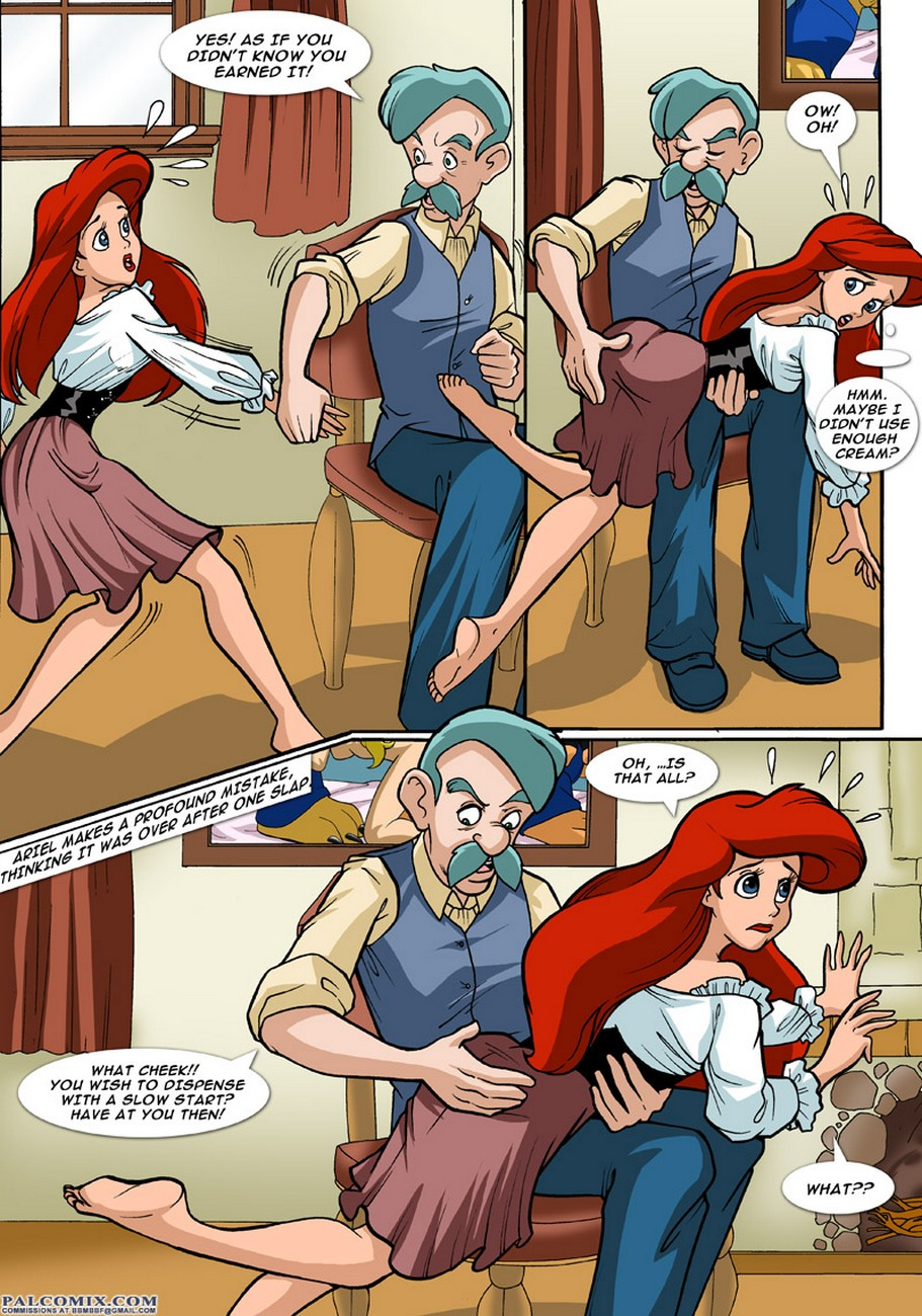ariel explores - part 2 at x sex comics