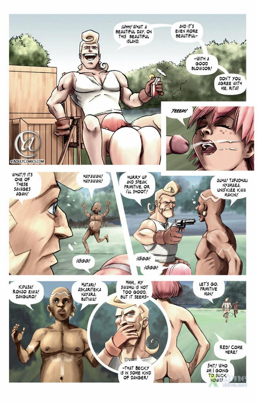Becky Valiant And The Forbidden Island