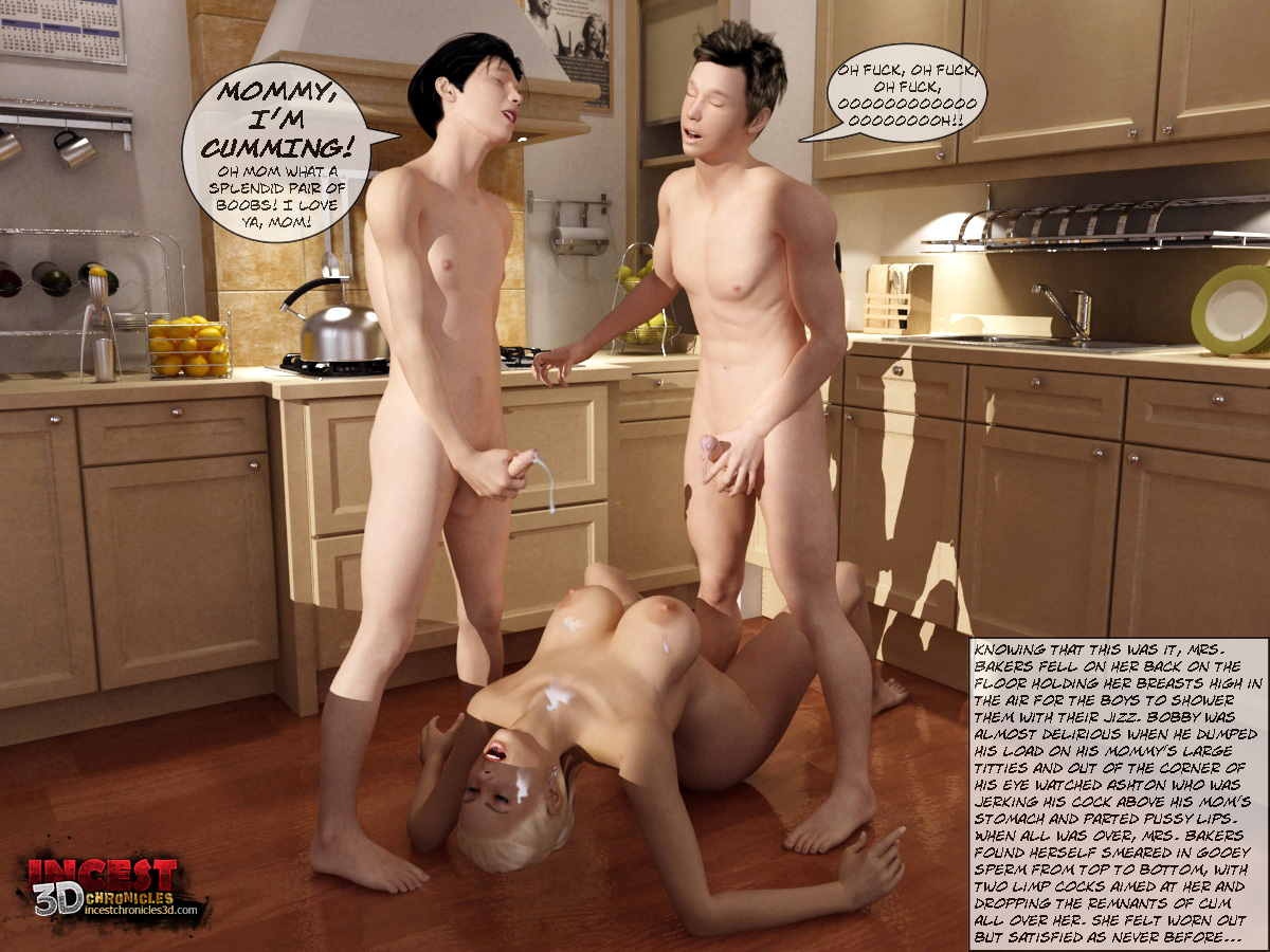 Mom And Boys- IncestChronicles3D - part 4