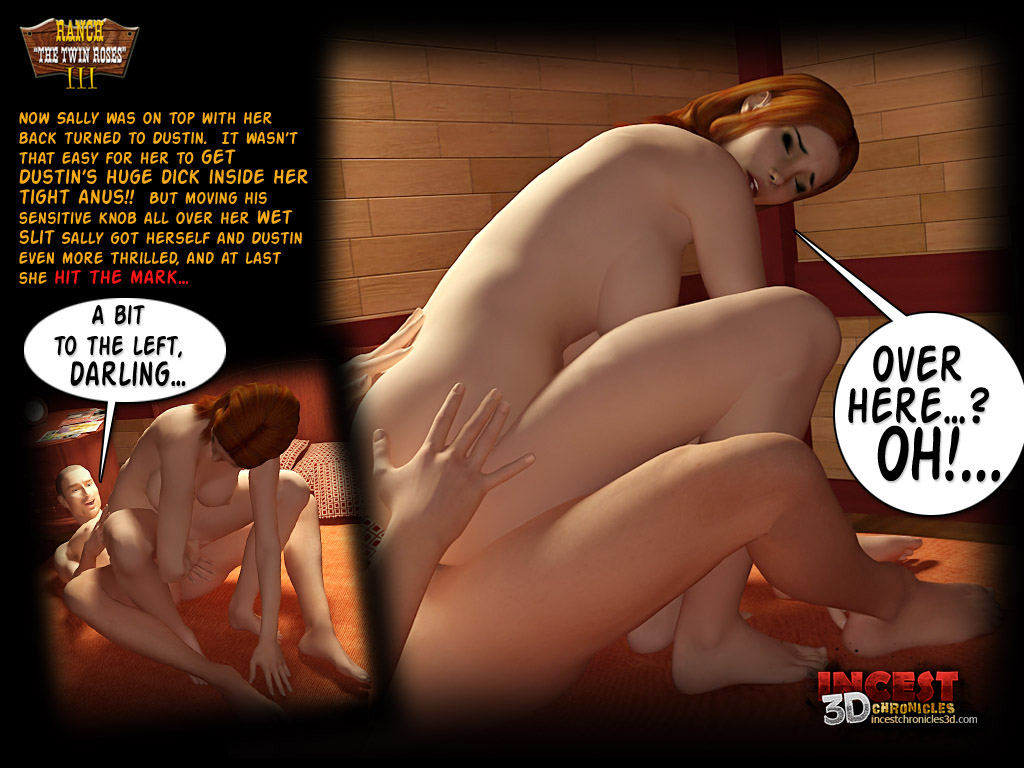 Ranch The Twin Roses. Part 3- Incest3DChronicles - part 2