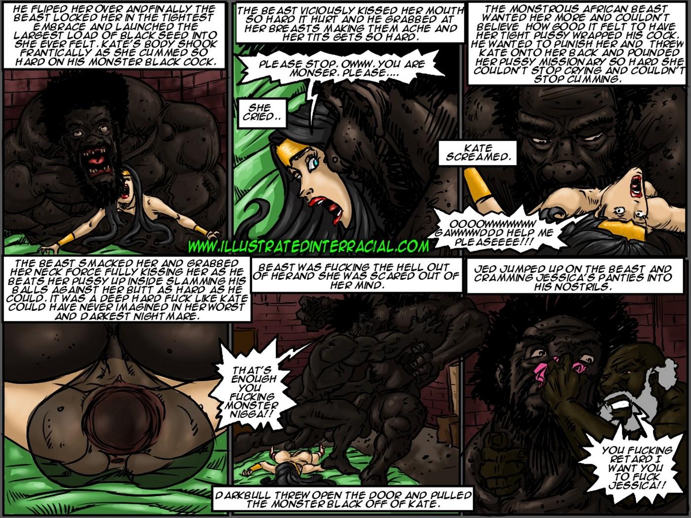 Farm girl- Illustrated interracial - part 7