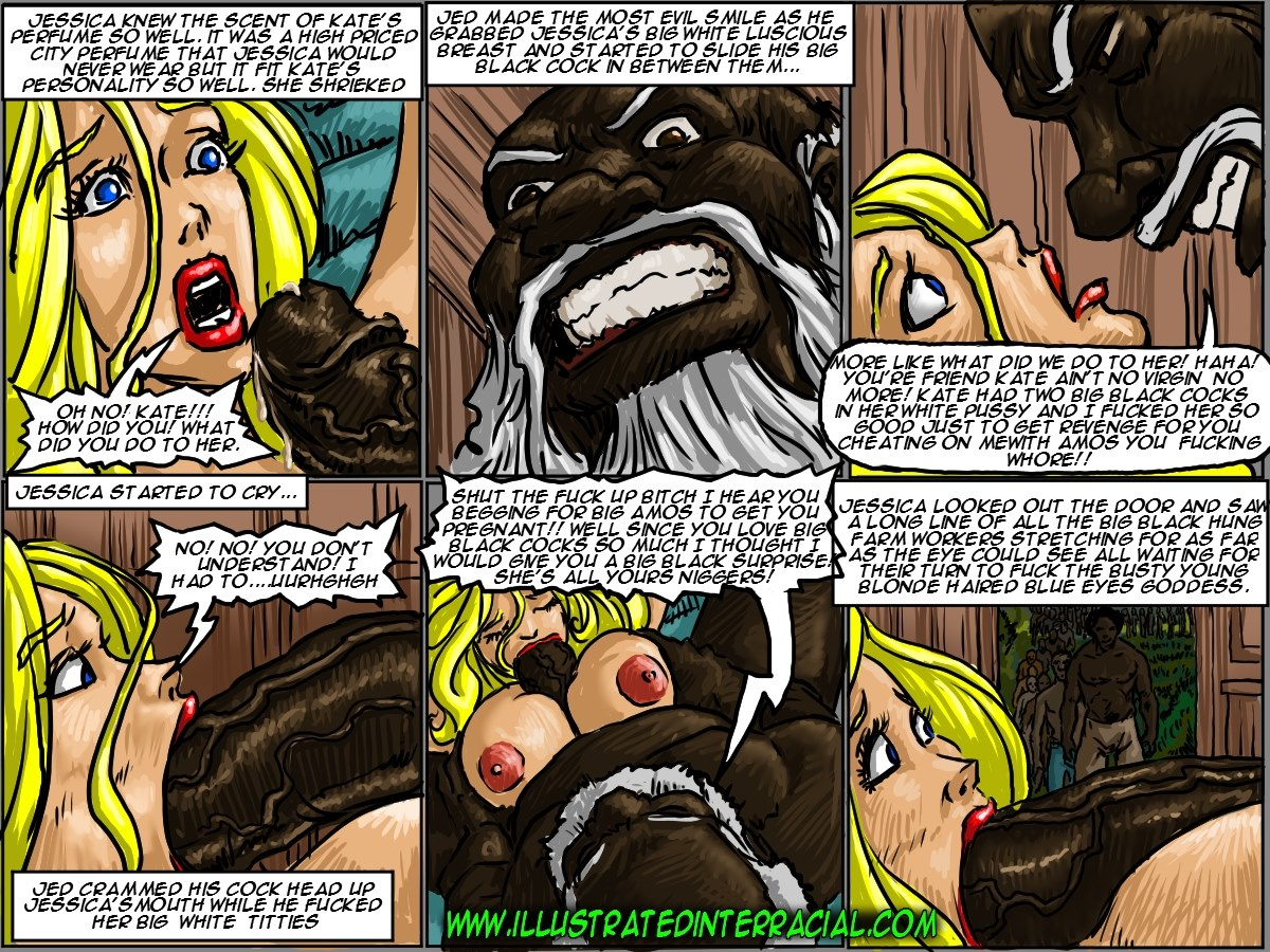 Farm girl- Illustrated interracial - part 7
