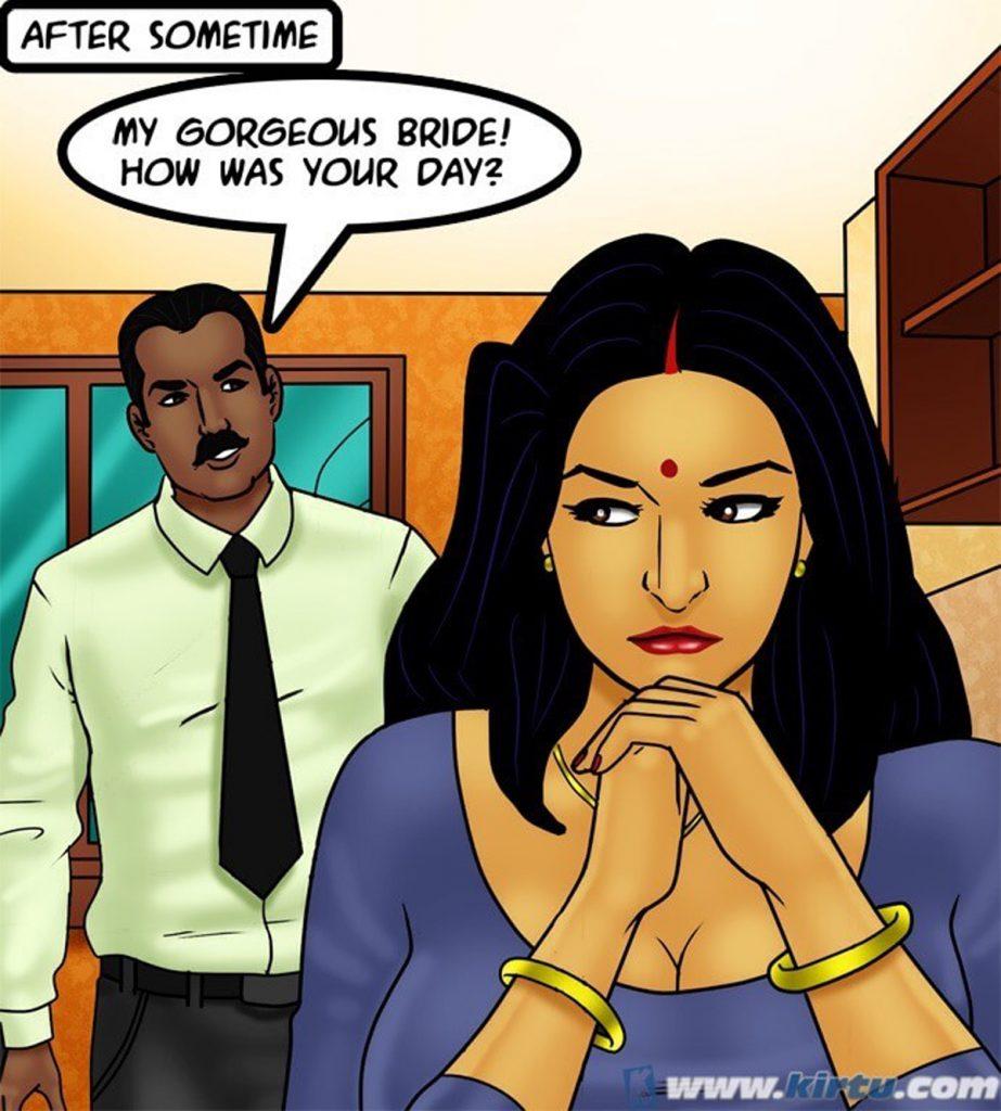 Savita Bhabhi 73- Caught in the Act - part 8
