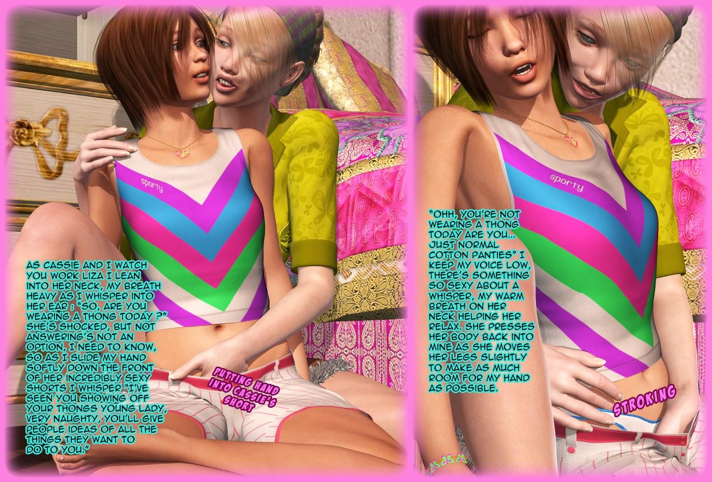 The Lesbian Test - Part 2 - part 2