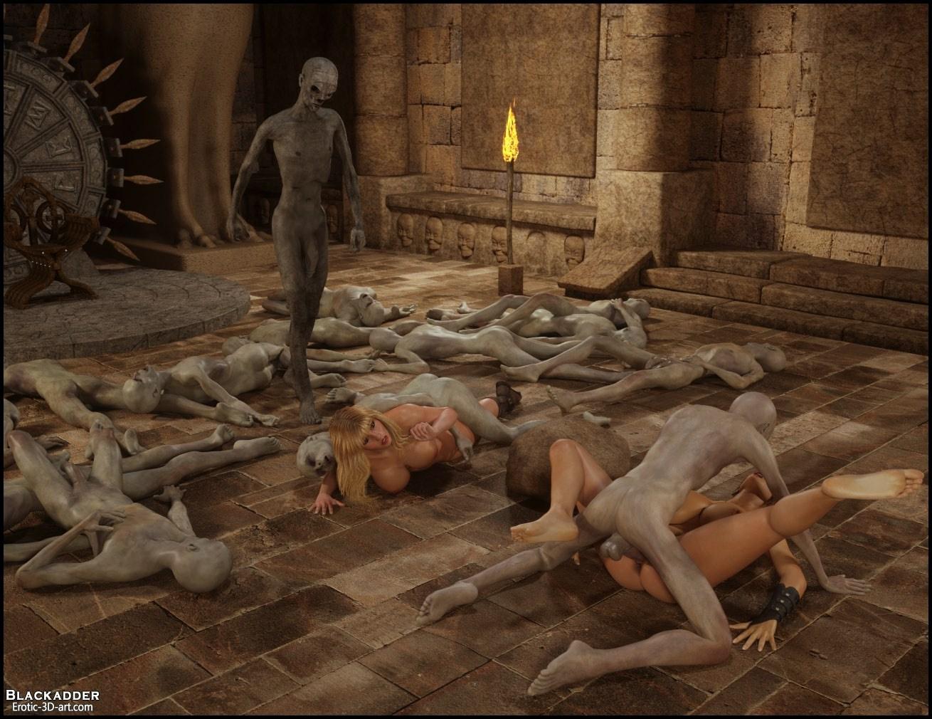 Blackadder- Trip to Egypt 3 - part 3