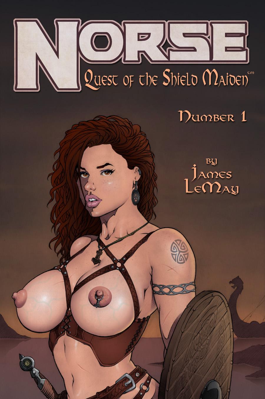 norse - quête de l' Bouclier maiden