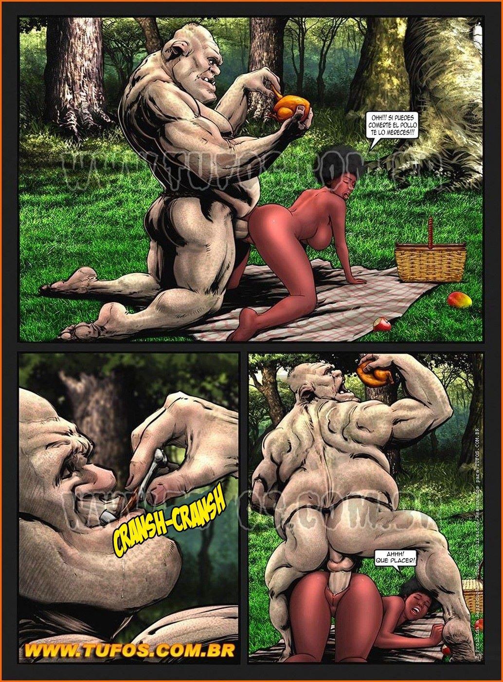 Tufos - Gangue dos Monstros 4