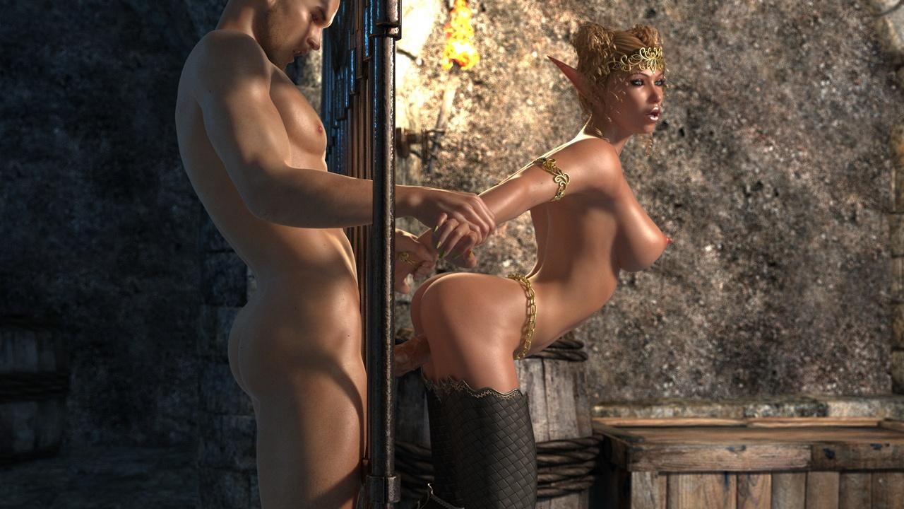 Elven Desire - Prison Perils 1 - part 3