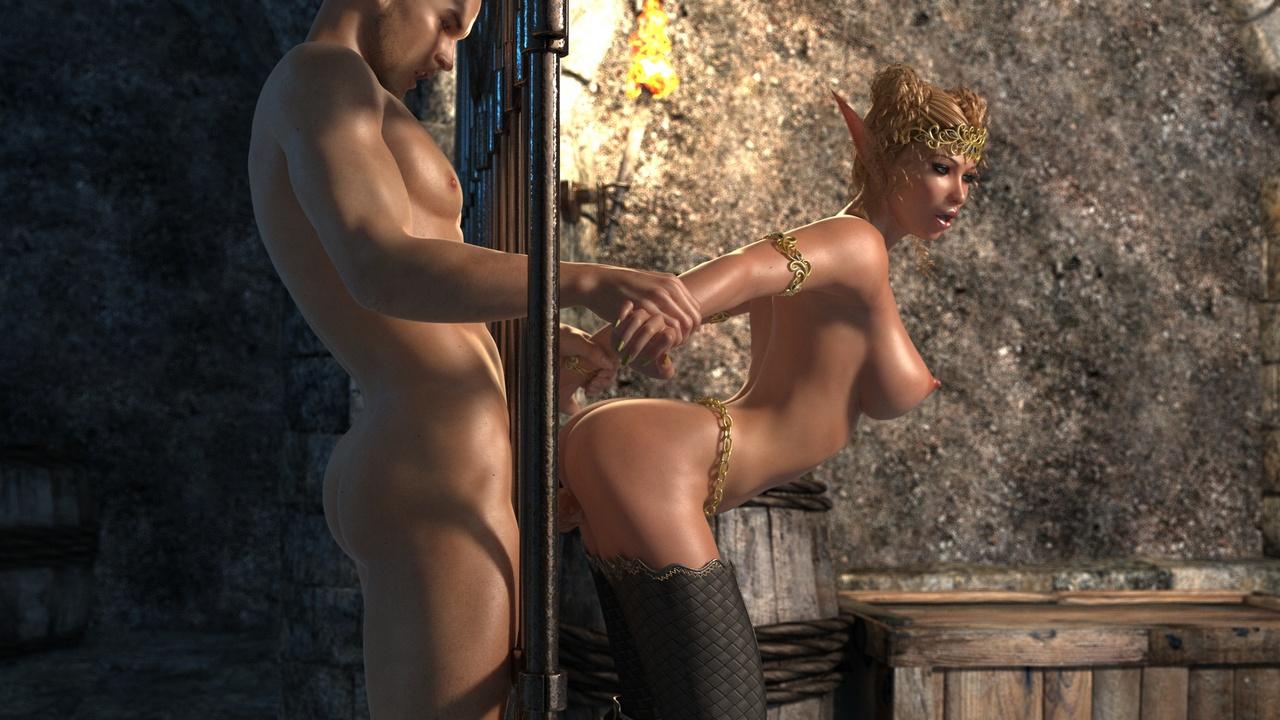 Elven Desire - Prison Perils 1 - part 4