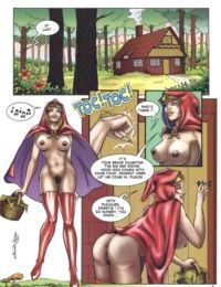 The Big Red Riding Hood