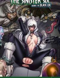 Tracy assiolo il sinister Sei contro il Nero Gatto