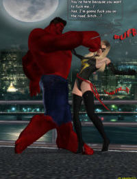 Ms. Marvel vs Red Hulk- The Return of Red Hulk
