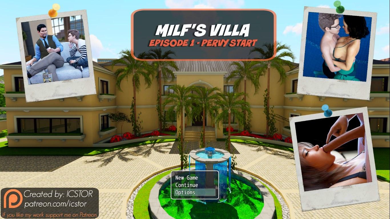 Mom Son Icstor - Milf\'s Villa - Denise