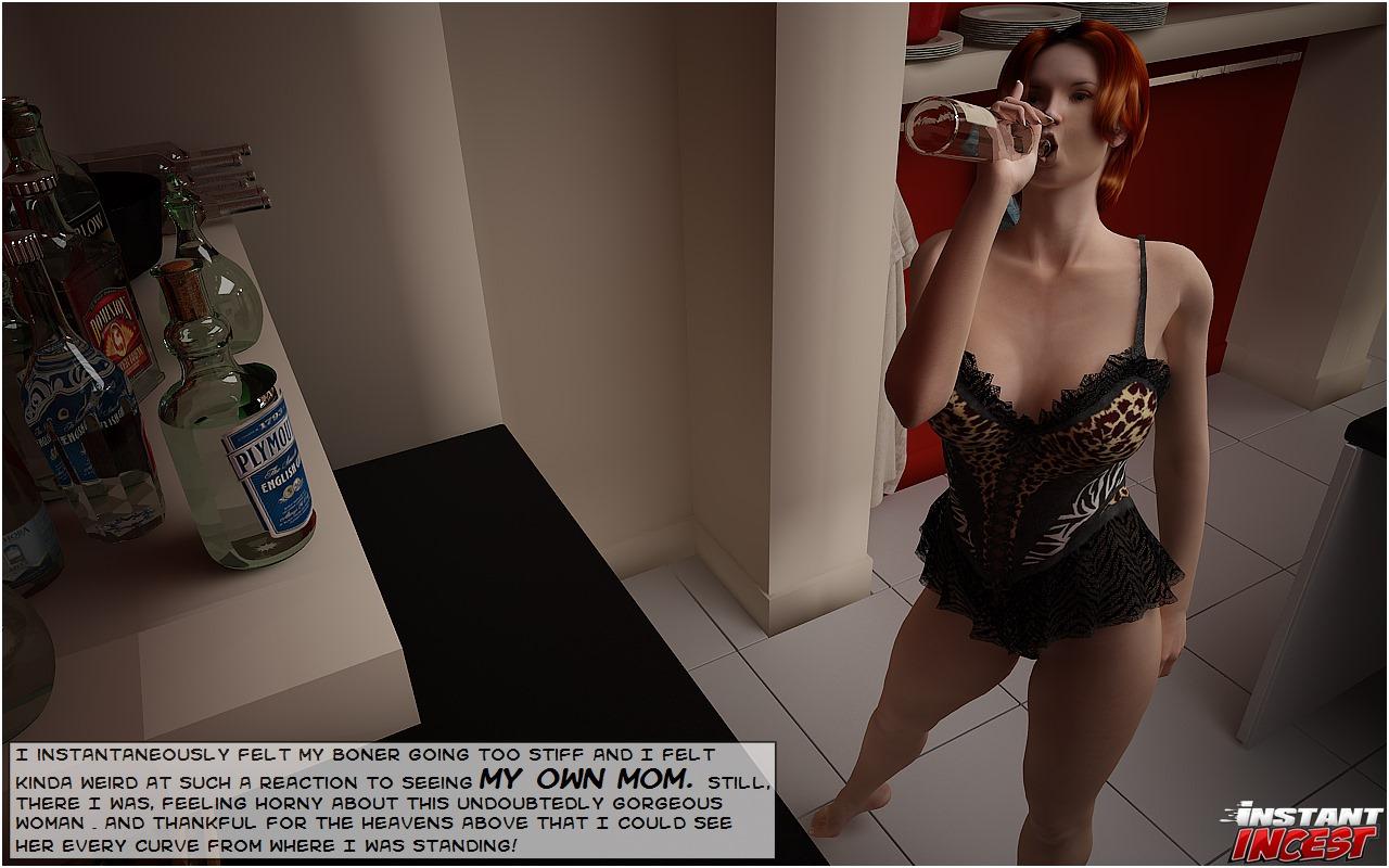 Screwing mamma on kitchen floor- Instant Incest