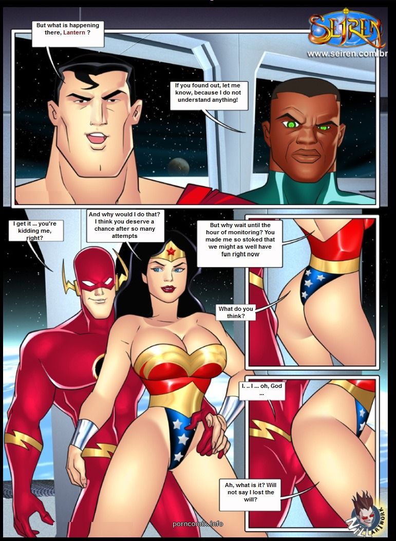 Se Liga Justica- It Up League, Justice 1- Seiren