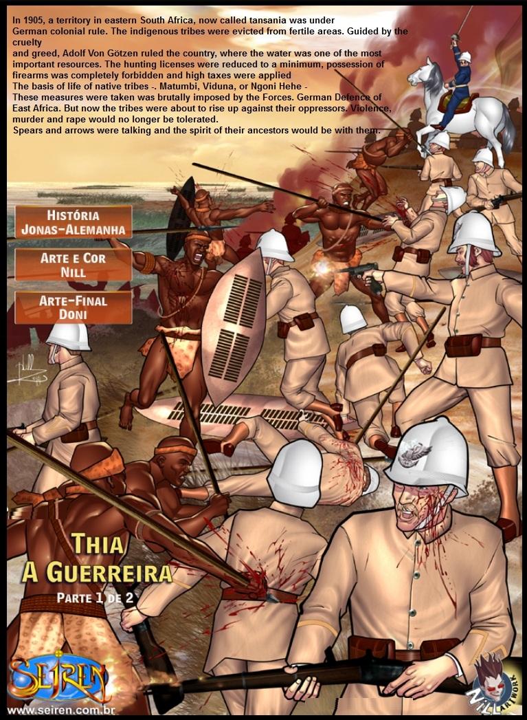 Curtas 13- Thia, The Warrior (English)- Seiren