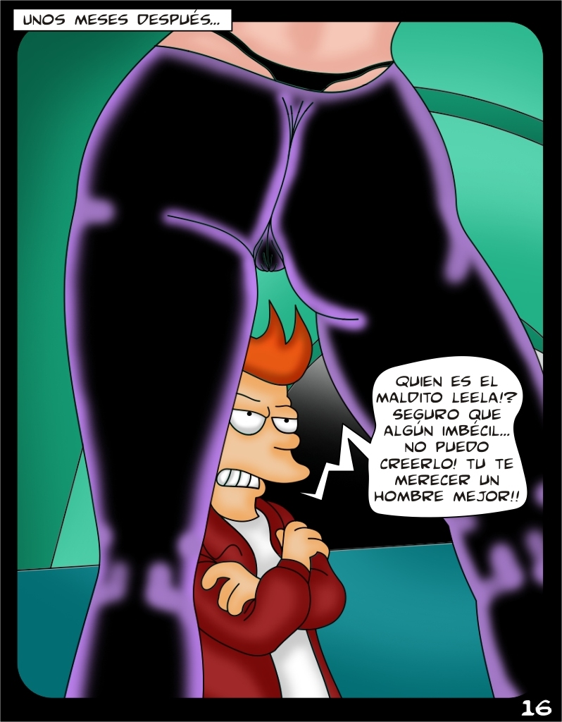 Futurama- Toon Babes Turanga Leela