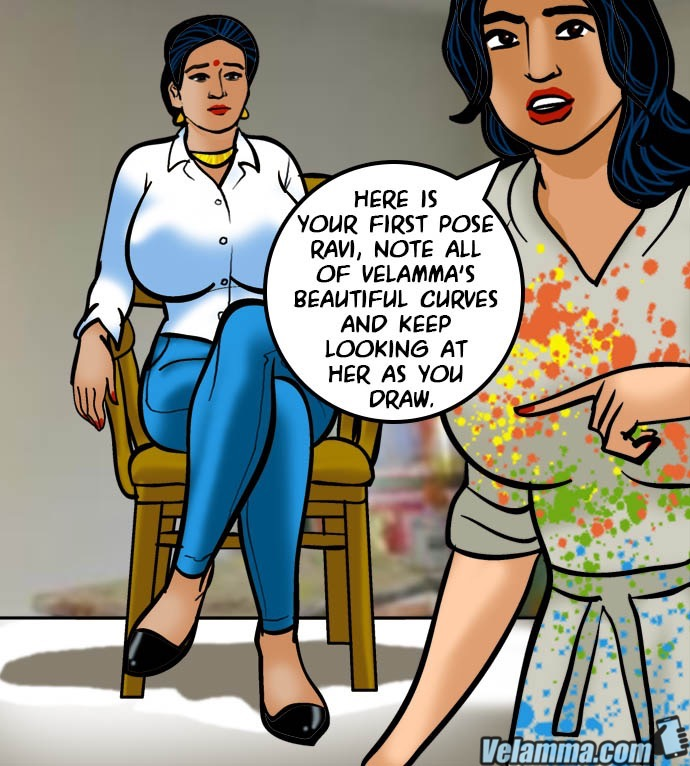 Velamma 62- A Piece of Art - part 4