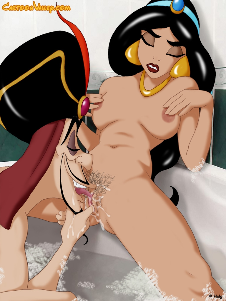 Jasmine and Jafar- Cartoon Valley