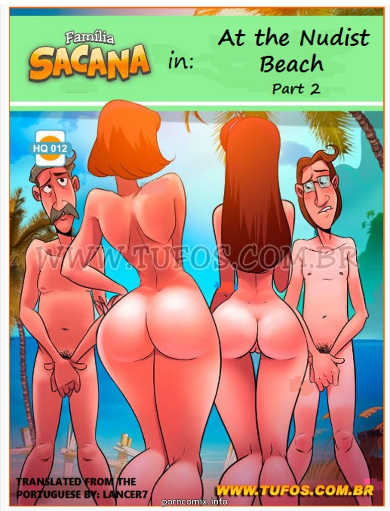 Family Sacana 12- At the Nude Beach