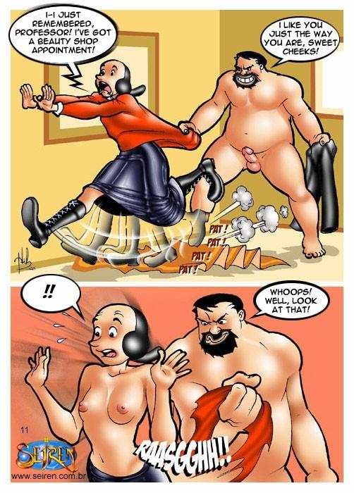 Popeye-The Dance Instructor