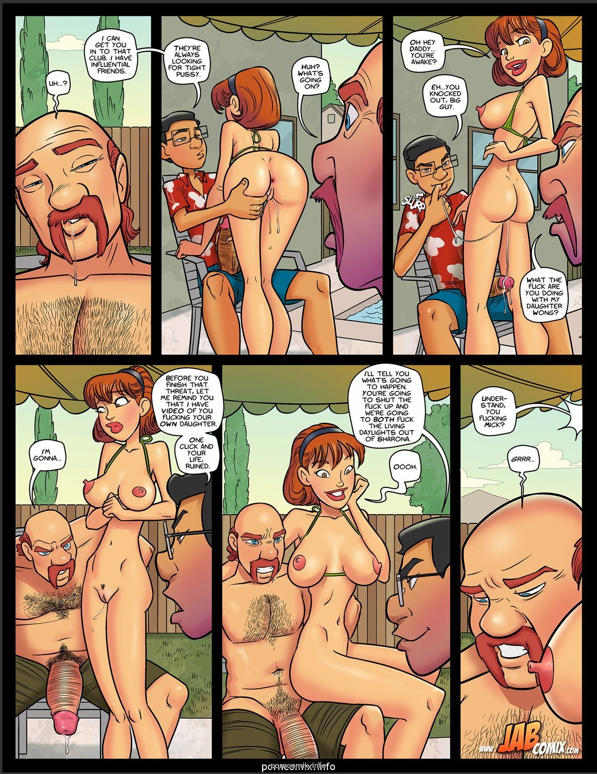 Jab Comix - My Hot Ass Neighbor 8