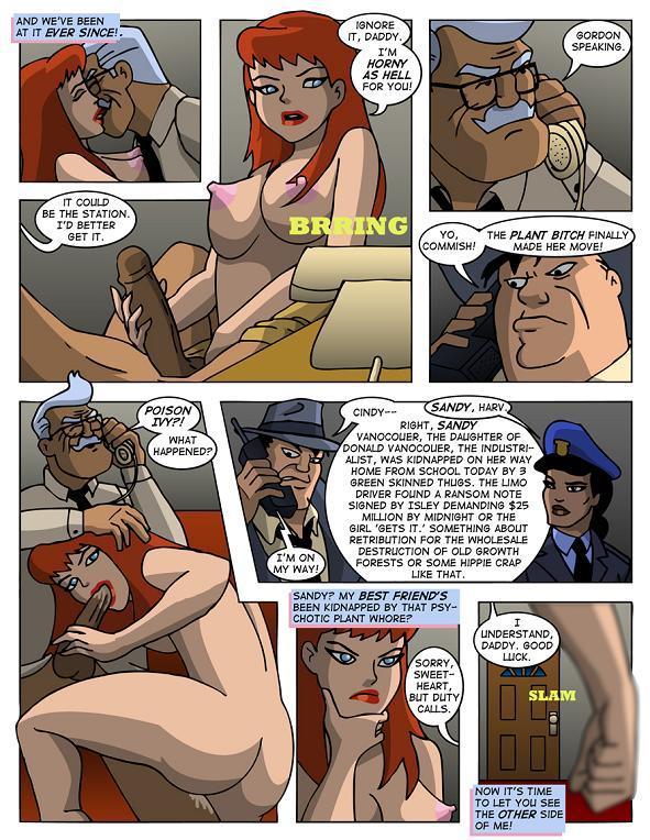 секс комиксы бэтгерл