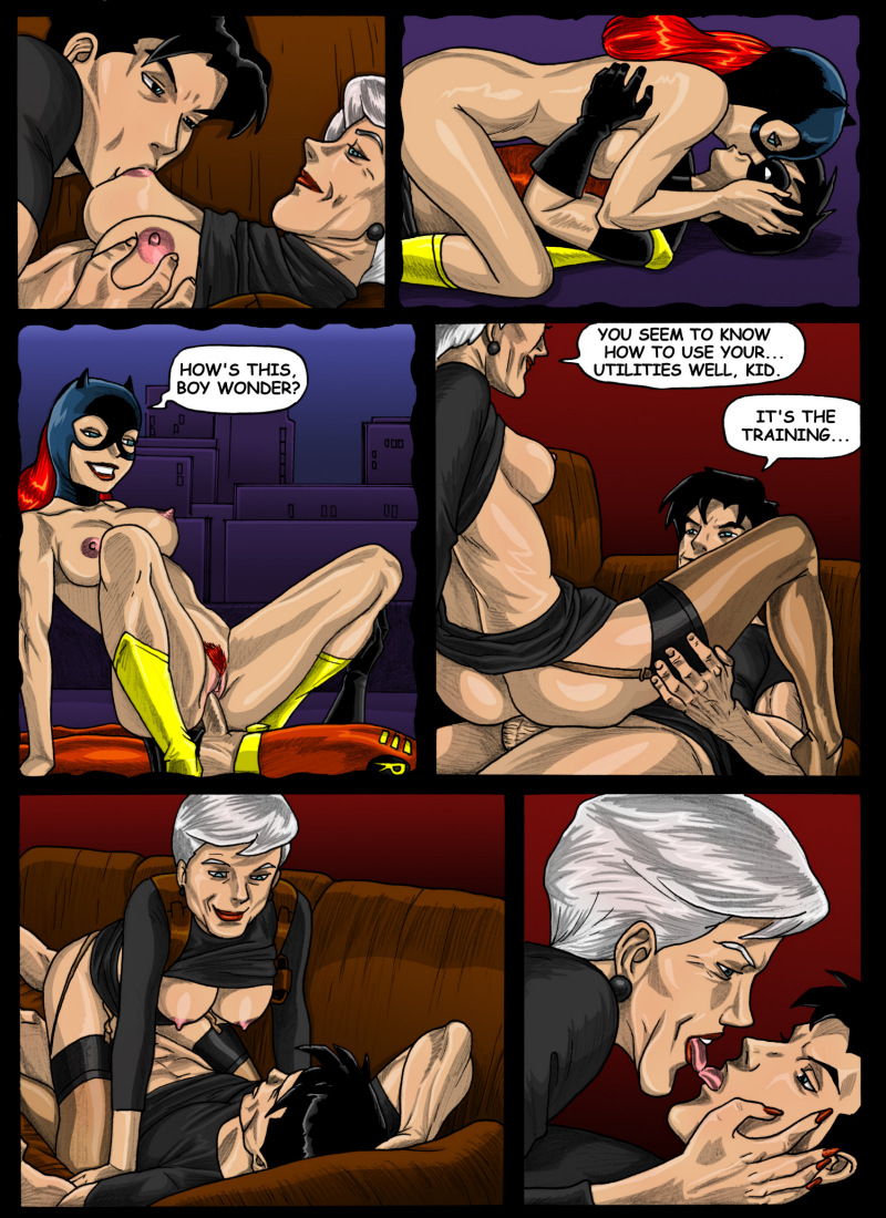 Batman Beyond- Forbidden affairs - part 2