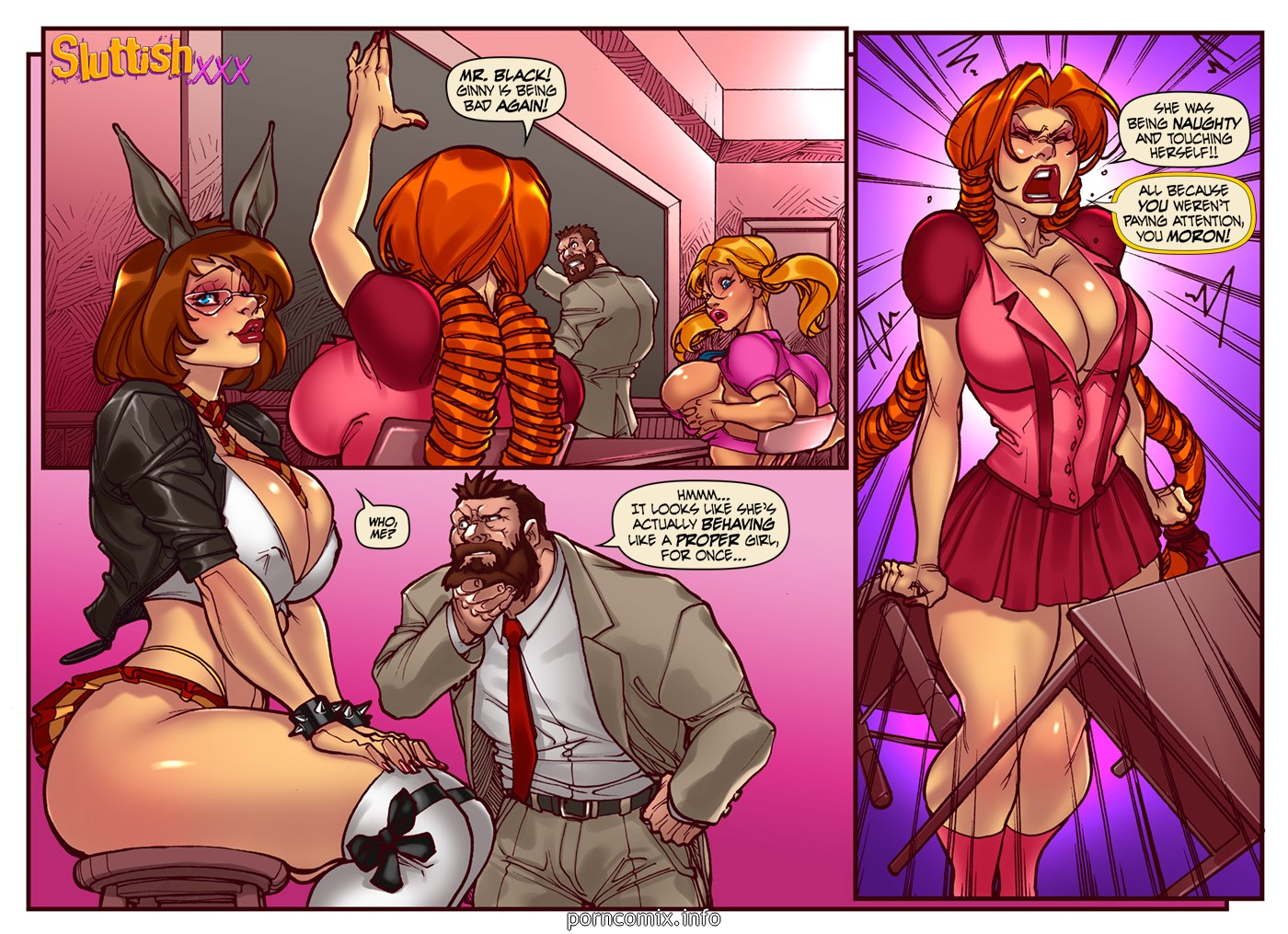 SluttishXXX - Ginnys Week Monday - part 2
