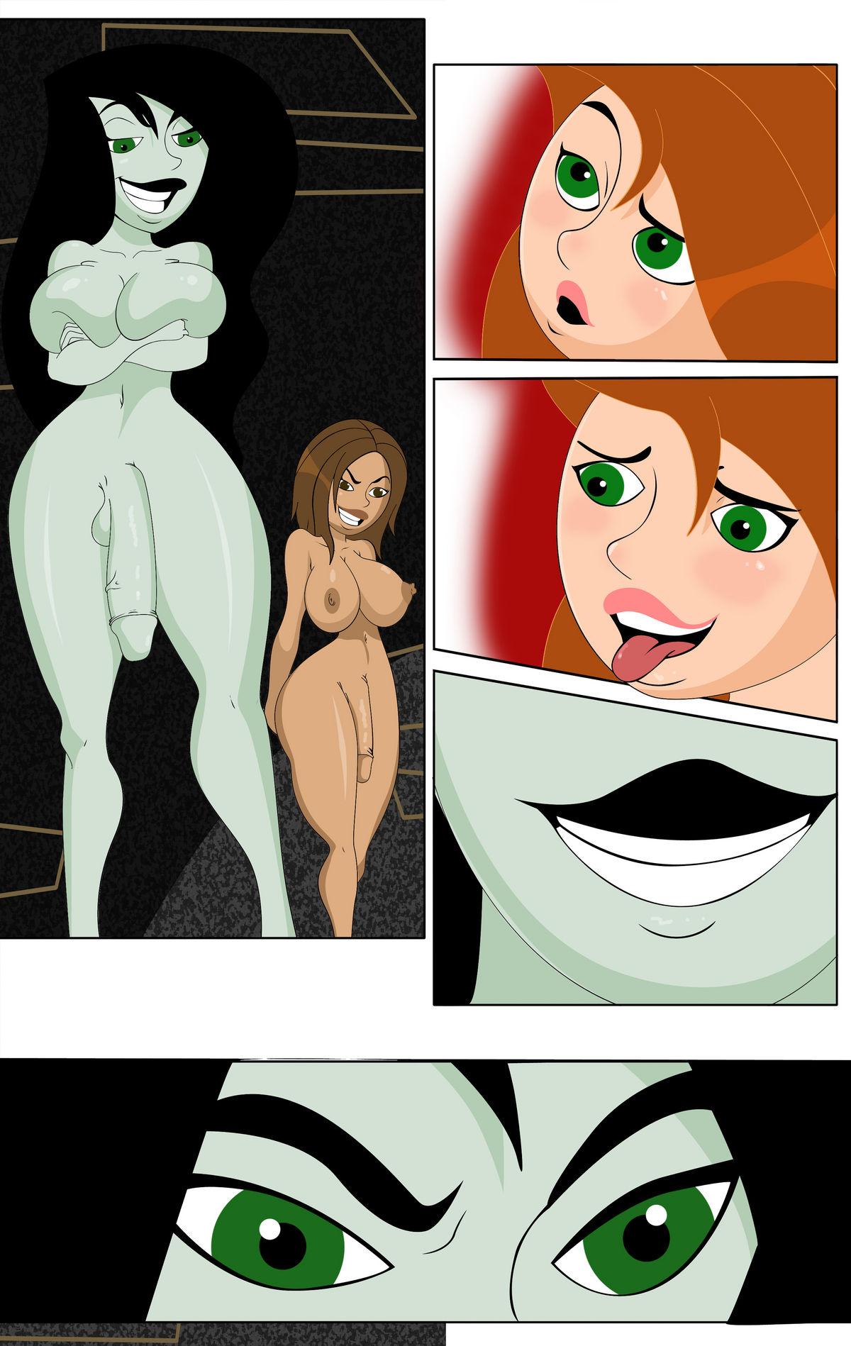 Kim Plausible 3 (Kim Possible)