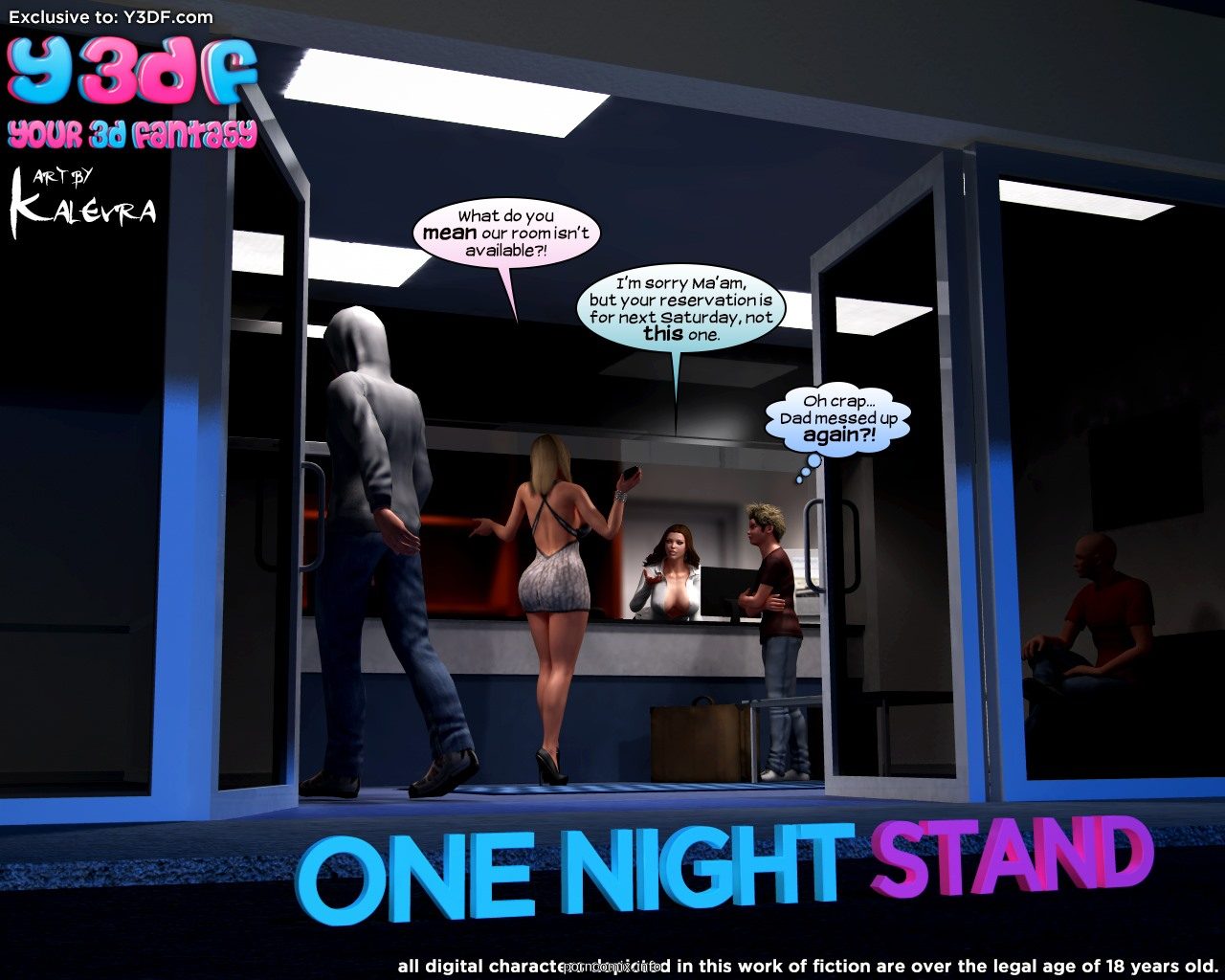 Y3DF- One Night Stand