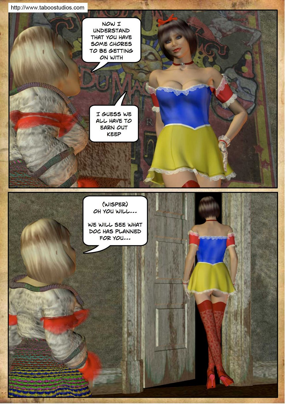 Snow White 2- Fractured Fairy Tales