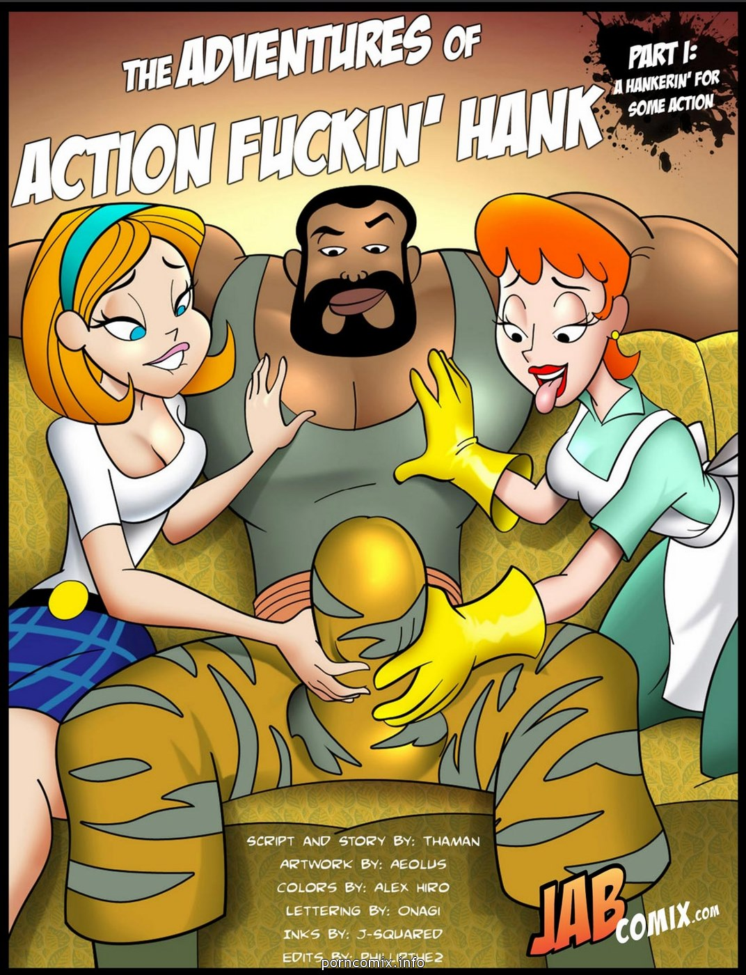 Jab Comix - Adventures of Action Fuckin\' Hank
