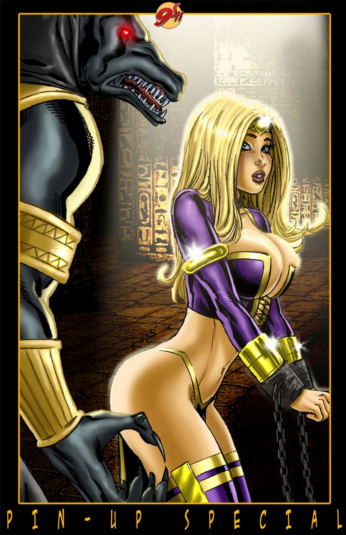 9 Super Heroines - The Magazine 9 - part 2