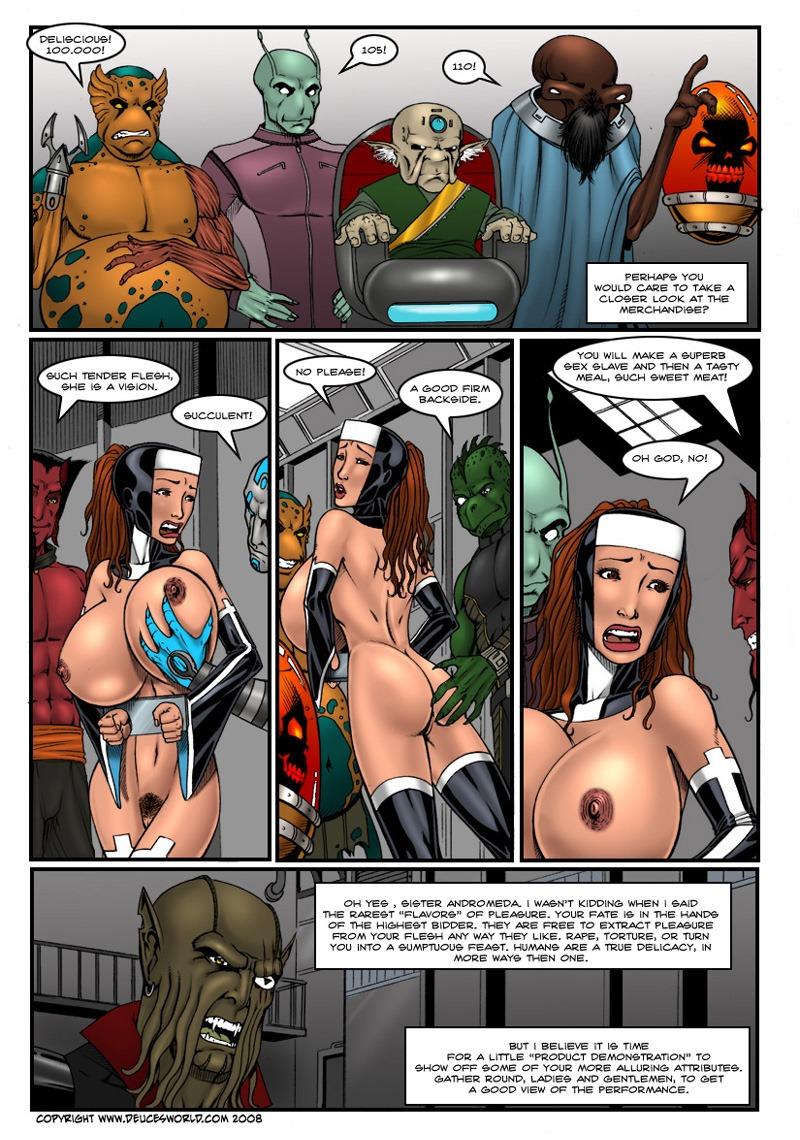 Astro Nun- DeucesWorld