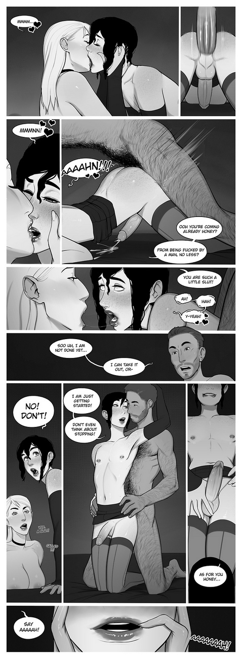 Short Femboy Comic