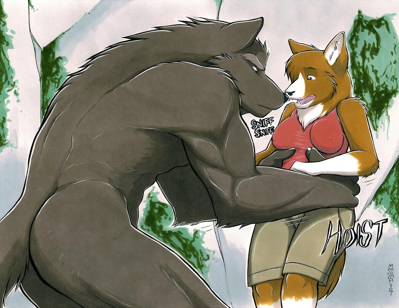The Werewolf And The Corgi