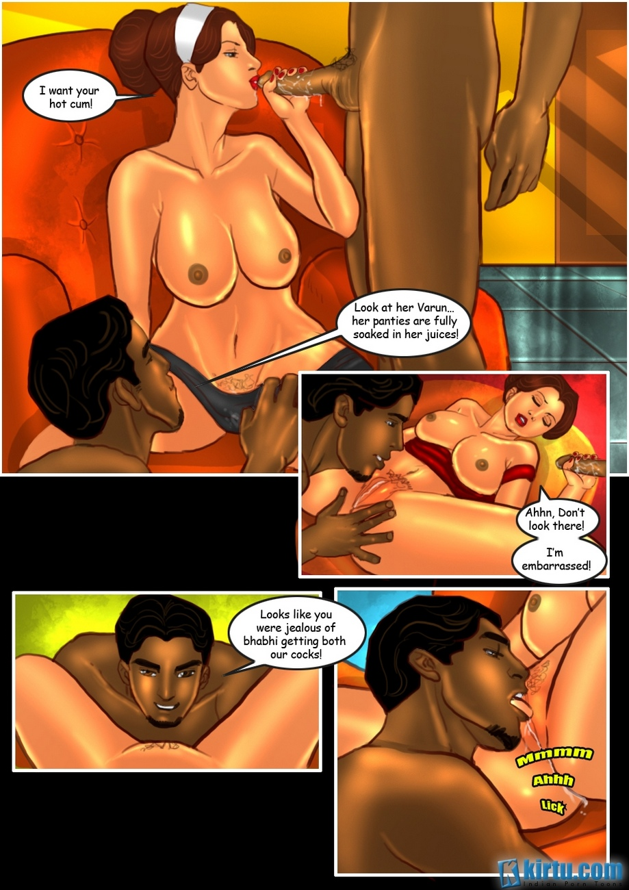Savita Bhabhi 24 - The Mystery Of Two - part 2