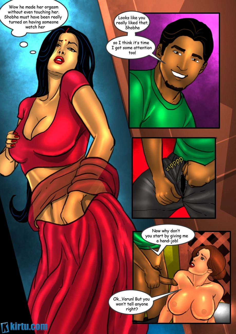 Savita Bhabhi 22 - Shobha\'s First Time