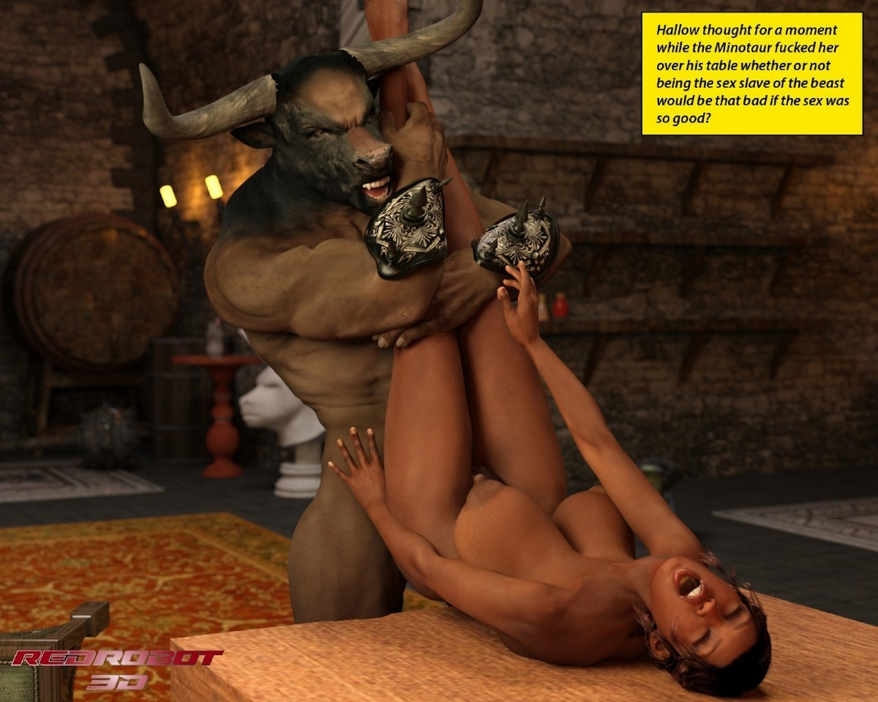 Escape From Lair Of The Minotaur - part 3
