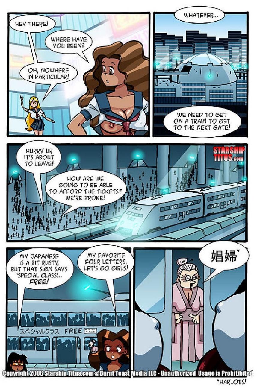Starship Titus 9 - part 2