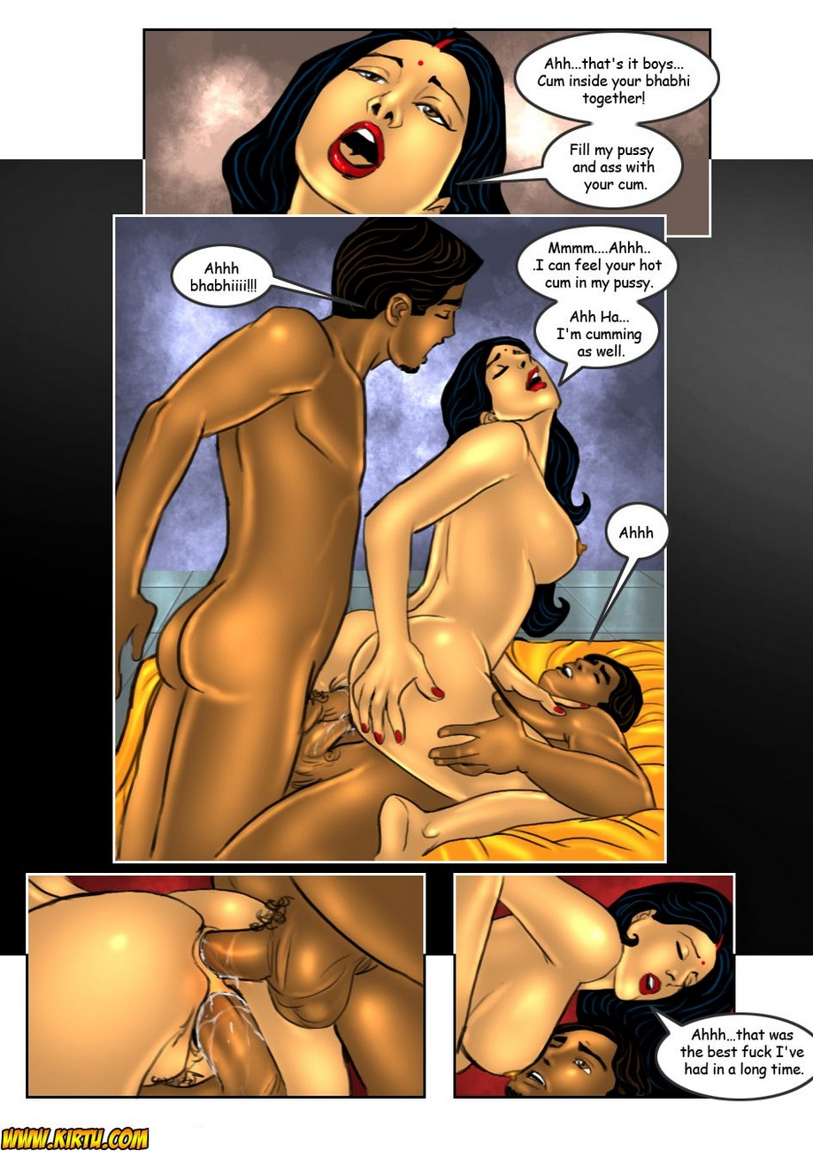 Savita Bhabhi 17 - Double Trouble 2 - part 3