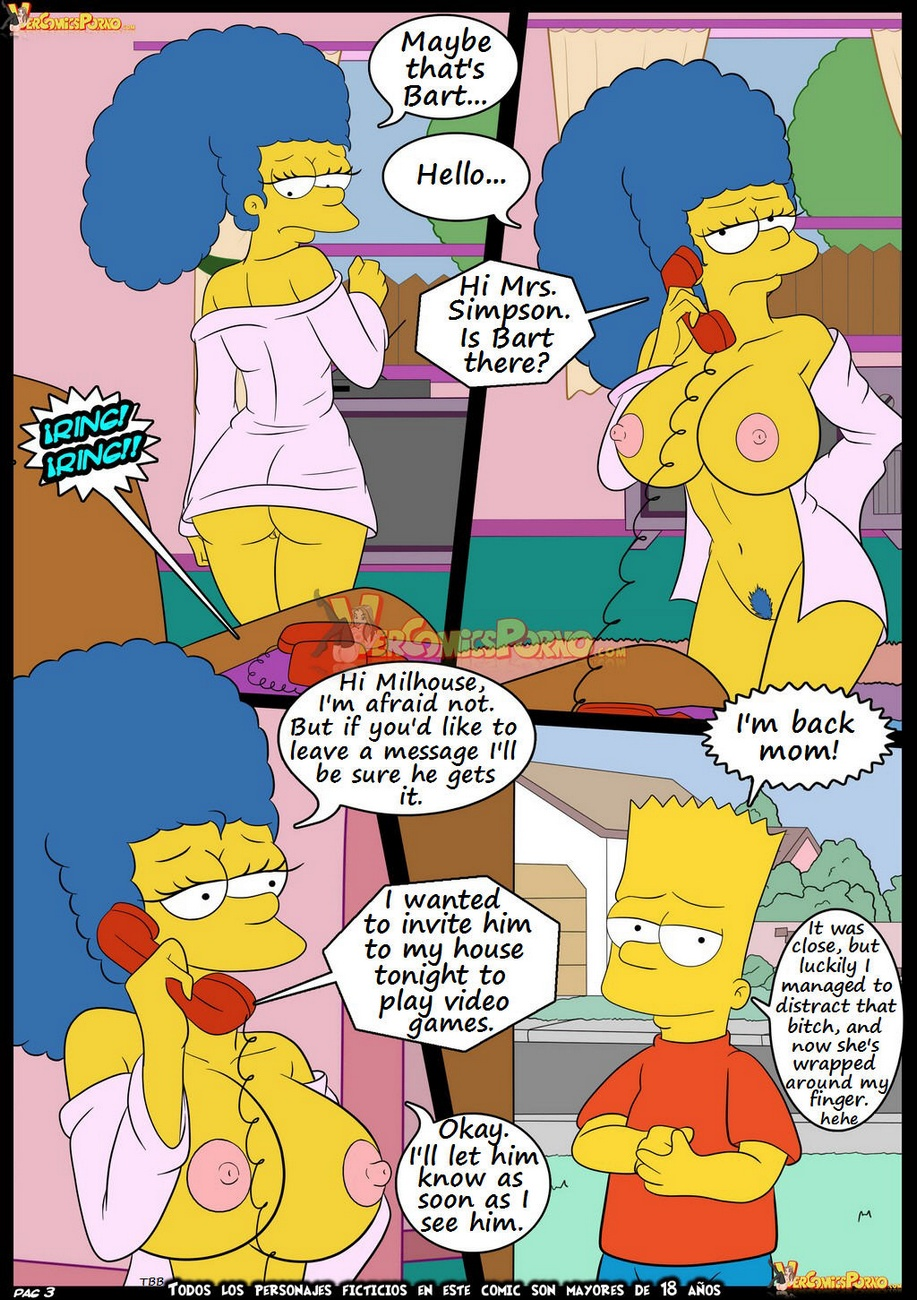 The Simpsons 6 - Learning With Mom