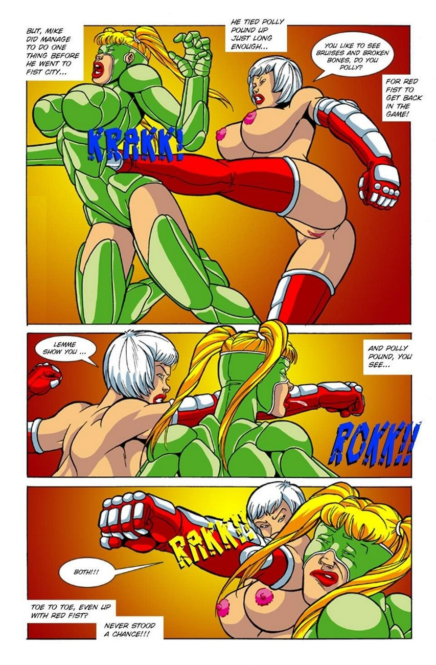 Omega Fighters 3 - Red Fist VS Polly Punch