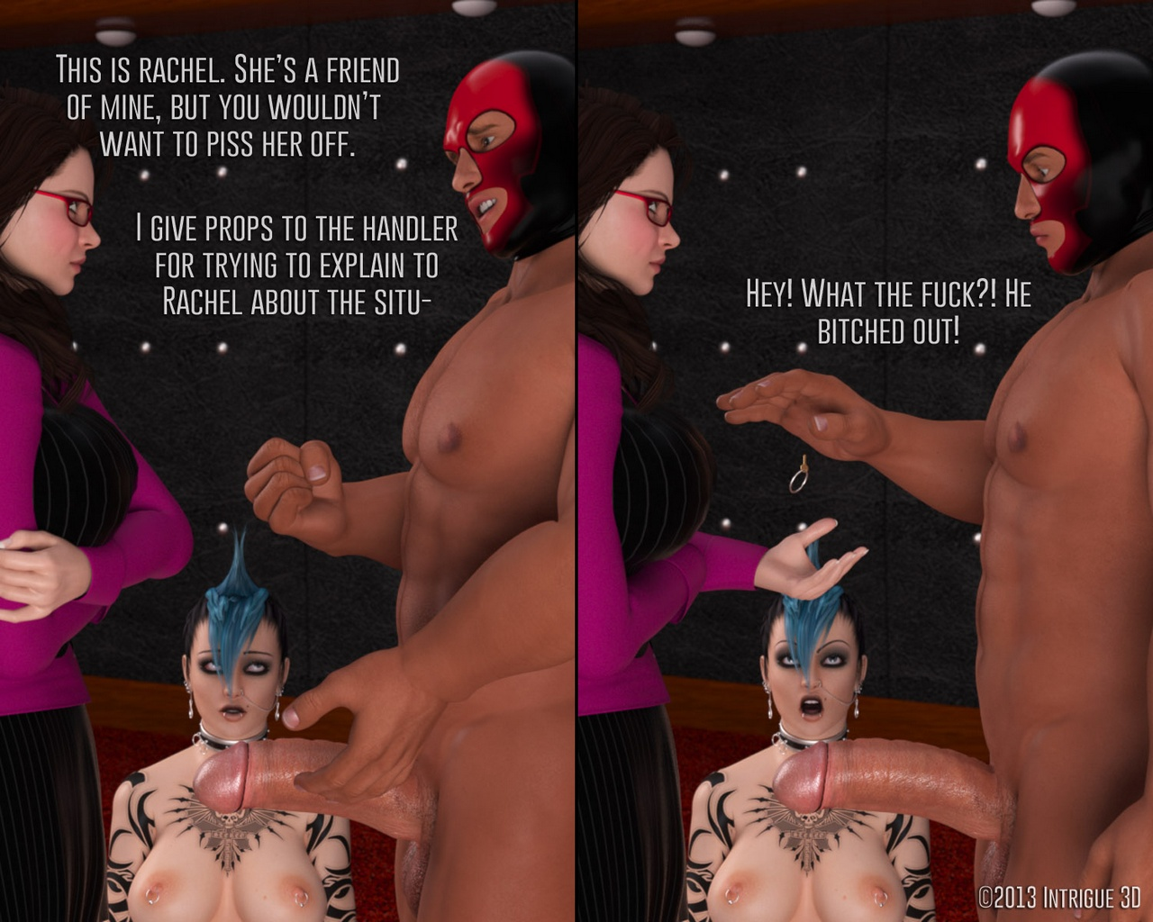 Zoey Gets Fucked (Over) - part 2