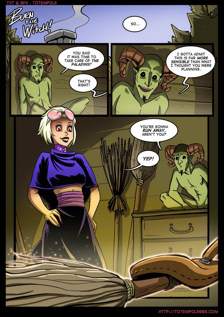 The Cummoner 7 - Burn The Witch